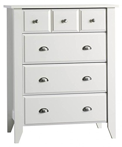 Child Craft Relaxed Traditional 4 Drawer Chest Matte White