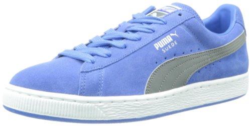 Puma Suede Klassieke Lederen Formstrip Sneaker Paleis Blauw