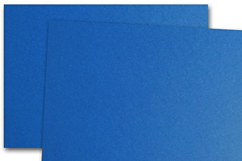 CC Cobalt Blue 80 lb cover 8.5x11 Card Stock - 25 pk