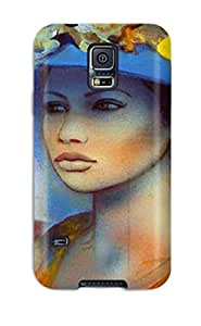 Tpu Fashionable Design Women Fantasy Abstract Fantasy Rugged Case Cover For Galaxy S5 New