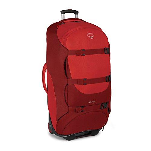 Osprey Shuttle 36''/130 L Wheeled Luggage, Diablo Red by Osprey