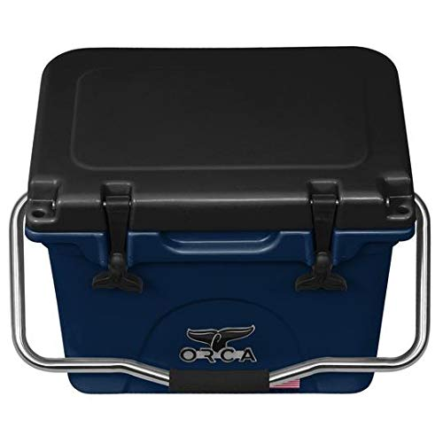 ORCA 20qt 20 Quart Cooler, Navy/Black