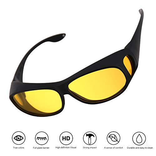 Night Vision Glasses for Driving with UV Protection Driving Anti-Glare