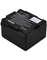 KDXY Compatible with Battery Panasonic VW-VBG070, VW-VBG070A, VW-VBG070-K GS98GK, H288GK, H48, H68GK, HDC-HS100, HDC-HS9, HDC-SD1, HDC-SD100, HDC-SD5, HDC-SD600