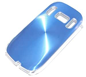 Hard Crystal Case Carcasa rígida de aluminio azul metálico para Nokia C7–00–RBrothersTechnologie