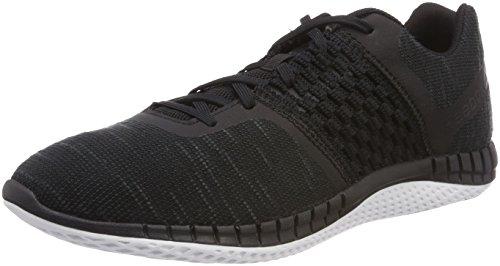 Reebok Print Run Dist, Zapatillas de Running Para Mujer Negro (Black/Alloy 000)
