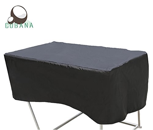 COBANA Garden Furniture Rectangular Table Set Cover 48 L x30 W x18 H Inches Waterproof