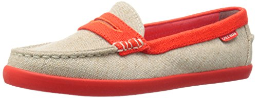 Cole Haan Dames Pinch Weekender Penny Loafer Natural / Citrus