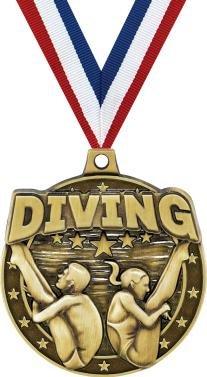 クラウンAwardsゴールドSwim Medals – 2