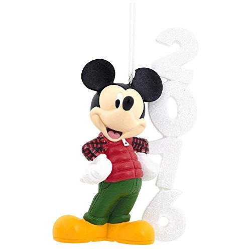 2016 hallmark mickey mouse disney christmas tree ornament