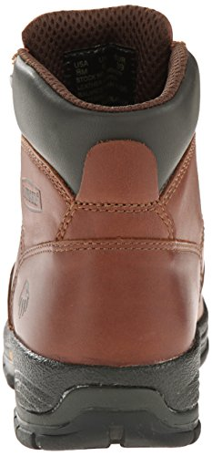 Wolverine Women's Harrison WMS 6'' LACE UP-W, Brown, 9 M US by Wolverine (Image #2)