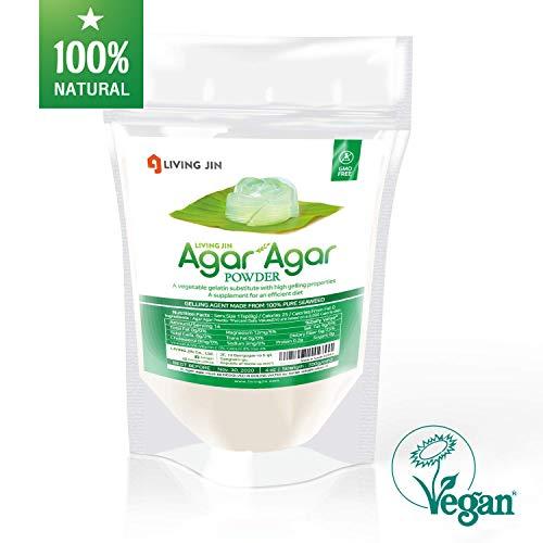 LIVING JIN Agar Agar Powder