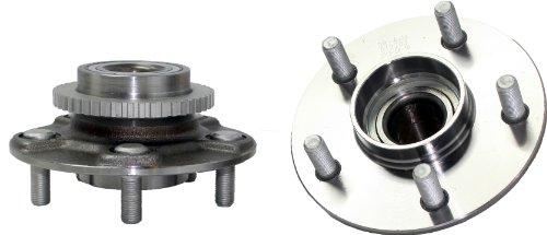 Detroit Axle - (Both) Rear Wheel Hub and Bearing Assembly for 2000-2001 Infiniti i30 - [02-04 i35] - 2000-2003 - I30 Driver Infiniti