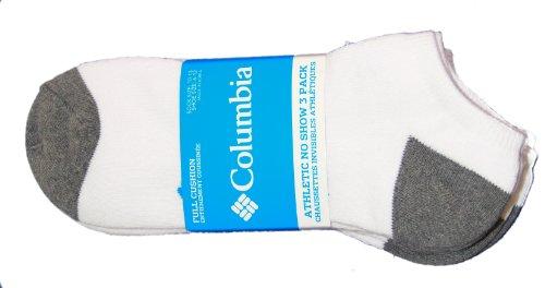 Columbia Socks Men (Columbia Mens 3-pk. Athletic No Show Socks 10-13)