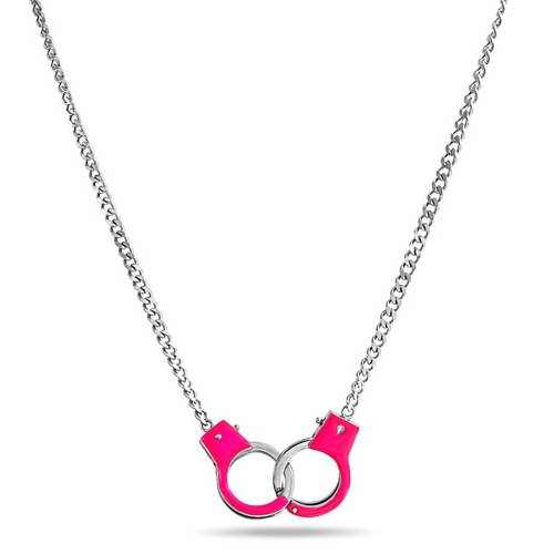 Bling Jewelry Stainless Handcuff Necklace product image