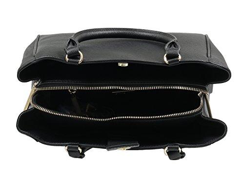 Versace Jeans E1VQBBU2_75469 Damen Handtaschen Leder Schwarz