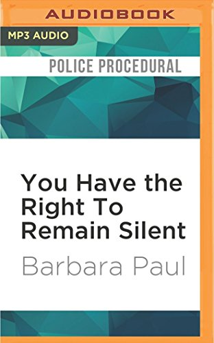 You Have the Right To Remain Silent (Marian Larch Mysteries)