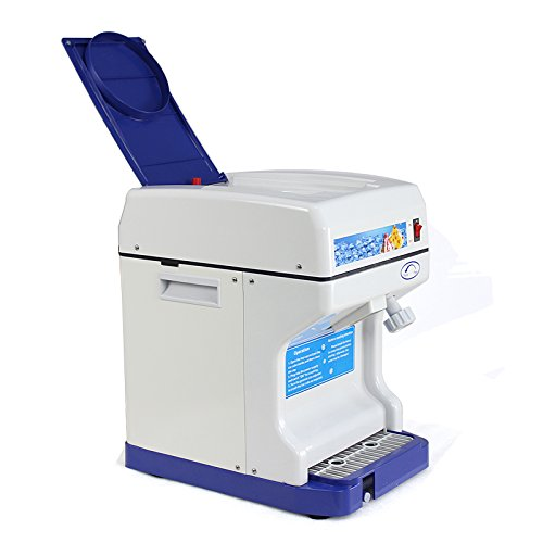 Segawe NEW ICE Crusher Maker Commercial ICE Shaver Snow Cone Machine Device by Segawe