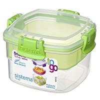 Recipiente para refrigerio de la colección Sistema To Go, 13.5 oz./0.4 L, color recibido puede variar