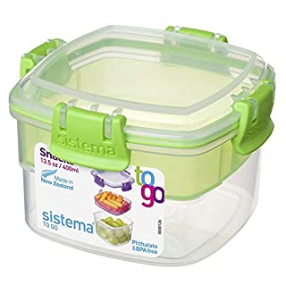 Sistema To Go Collection Snack Container, 13.5 oz./0.4 L, Color Received May Vary (B00DQSX57S) | Amazon Products