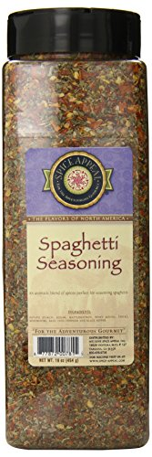 Spice Appeal Spaghetti Seasoning, 16 Ounce by Spice Appeal