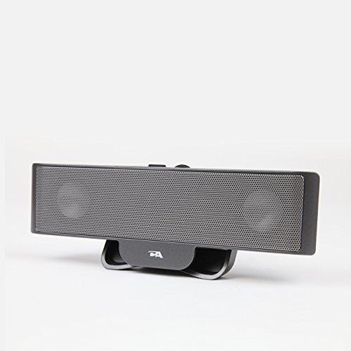 Cyber Acoustics Portable USB Laptop Speaker - Designed to tr