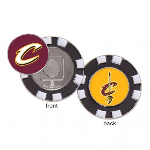 Cleveland Cavaliers NBA Poker Chip Golf Ball Marker by WinCraft