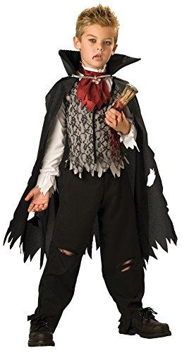 Kids-Costume Vampire B Slayed Child Sz4-6 Halloween Costume - Child 4-6 (Vampire B Slayed Boys Costume)