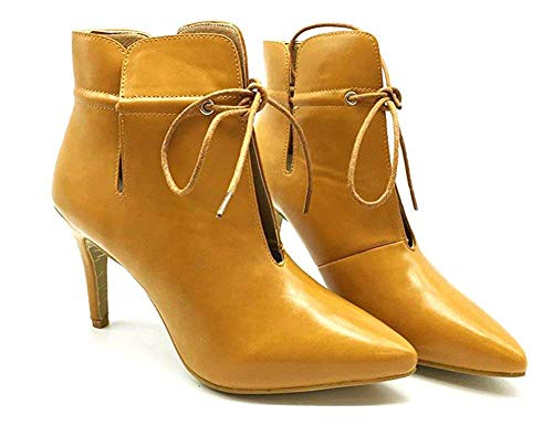 Tight 's Out Da Short Bare Lace Donna Boots Hollowed 38 Stivaletti Eu Heel' Deed Pointed w4AtxYq0nW