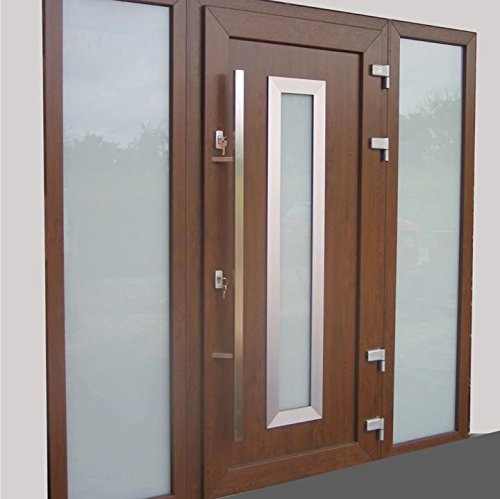 O-166 Oblique Modern Stainless Steel Sus304 Entrance Entry Commercial Office Store Front Wood Timber Glass Garage Aluminum Business Office Door Pull Push Handles Double-sided (18 Inches /450x20x40mm)