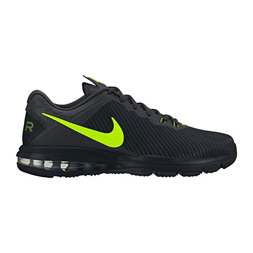 Nuevo Nike Air Max Full Ride TR 1.5 Cross Trainer Black / Volt 10.5