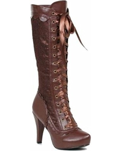 Ellie Shoes Women's 414-Mary Boot, Brown, 10 M US ()
