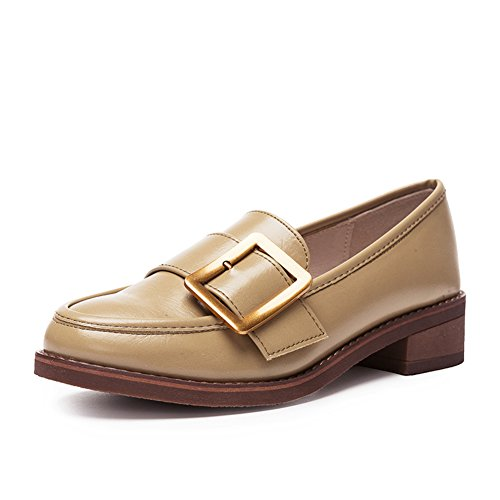 Damenschuhe,Side Heel Set Foot Deep Mouth Shoes-B Fußlänge=22.3CM(8.8Inch)