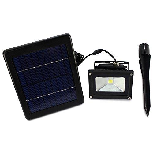 La energía solar solar lámpara de proyector de luz LED proyector a ...