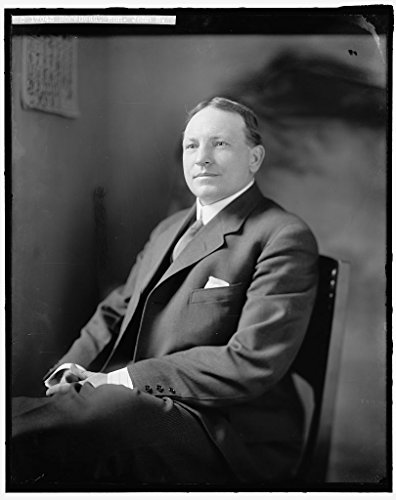 rapped Framed Print of Morehead, John M. Honorable 1905-45 Harris & Ewing 80a ()