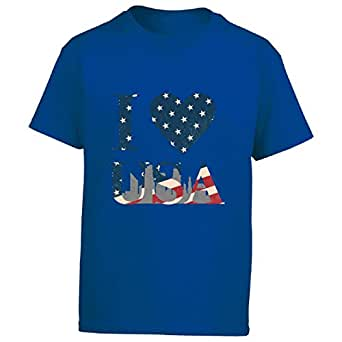 Amazon.com: I Love United States of America - Boy Boys T