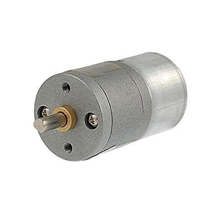 Amazon.com: DealMux 40 rpm DC 6V 0.1A Gear Box elétrica velocidade Reduzir Motor: Automotive