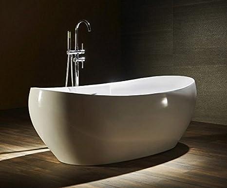Vasca Da Bagno Di Design Moderno : Vasca da bagno 175x85x65h freestanding per centro stanza design
