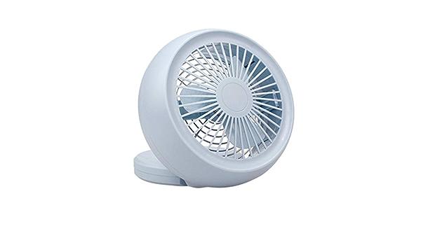 JiaMeng Mini Ventilador Silencioso Pequeño y Potente ...