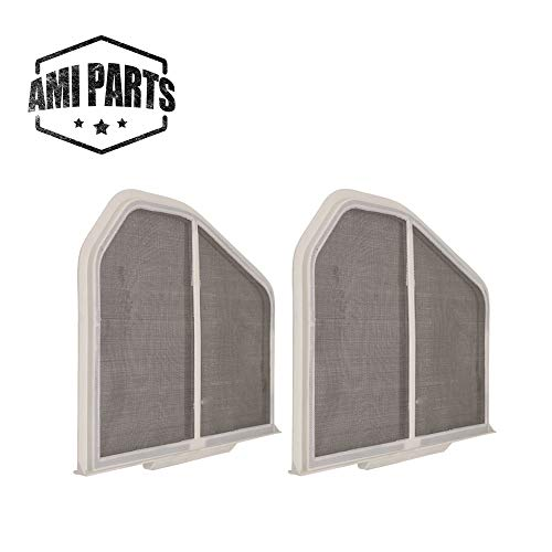 W10120998 Dryer Lint Screen Filter Replacement Part by AMI PARTS - Compatible with Whirlpool, Kenmore, Roper & Sears Dryers - 2 Pack