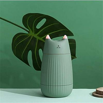 TaoRan Humidificador Creativo Gato Luces Coloridas Orejas ...