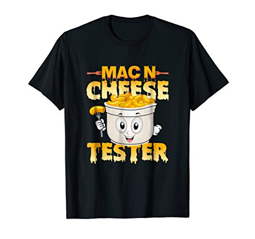 Mac N Cheese Tester Funny Kids Shirt (Mac Cheese N Shirt)