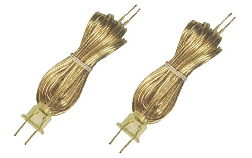 -   Westinghouse Lighting 70105 8' Cord Set - 2 Pack