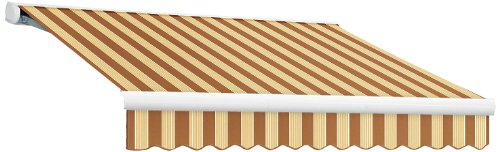 UPC 731478932868, AWNTECH 10-Feet Key West Full Cassette Left Motor with Remote Retractable Awning, 96-Inch, Terra/Tan/Multicolor