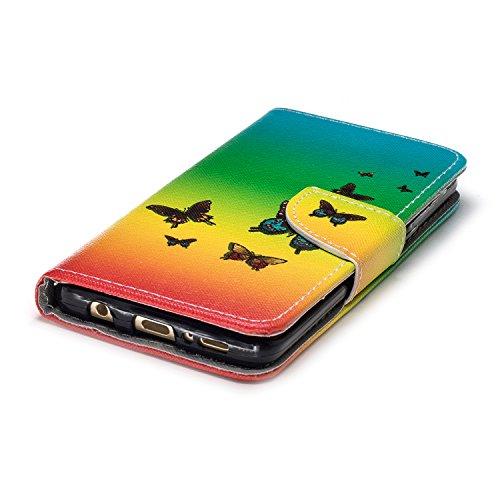 Motif En cartes Choc Coque Housse Papillons Mince Cuir S9 Porte Galaxy Etui Rabat Anti Ultra À Magnétique 1600 Herbests Avec SIwxq8nS