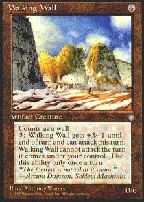 (Magic: the Gathering - Walking Wall - Ice Age)