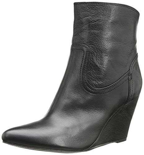 FRYE Women's Regina Covered Wedge Boot, Black, 11 M US