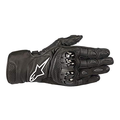 Sp2 Gloves - Alpinestars Men's SP-2 v2 Black Gloves 3558218-10-XL