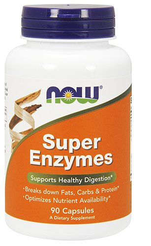 NOW Foods Super Enzymes – 90 Capsules