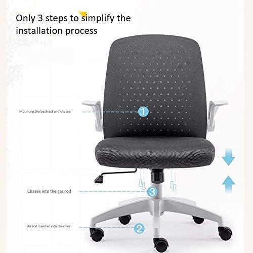 Kontorsstol ergonomisk skrivbordsstol hushåll svängbar lyft funktion datorstol knästol